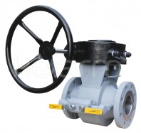 Ball valve, metal-to-metal, with springs and floating seats