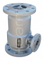 Vertical lift-type check valve with automatic relief KM 9903.1 117 (Z40) - Vertical lift-type check valves