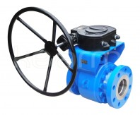 Flanged ball valve, metal-to-metal KM 9108.X-MD5 - Metal seated